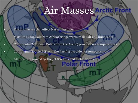 air masses climate tropical maritime nassau hurricanes continental warm moist brings