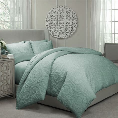 Bed Coverlet by Barcelona Spa Blue By Vue Bedding Collection