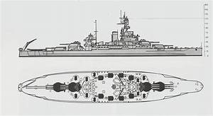 Uss Massachusetts 1945 By Lionessnala On Deviantart Warships
