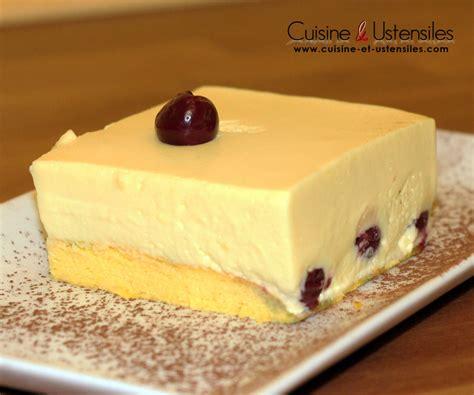 hervé cuisine bavarois recette bavarois vanille et cerises le de cuisine
