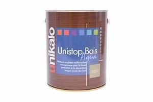 Peinture Argentée Pour Bois : unistop bois aqua mat riel peinture ext rieure ~ Melissatoandfro.com Idées de Décoration