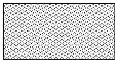 Isometric Paper Graph Grid Printable Rectangular Calendar