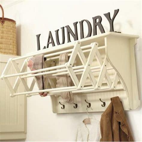 laundry room drying rack 50 laundry storage and organization ideas 2017