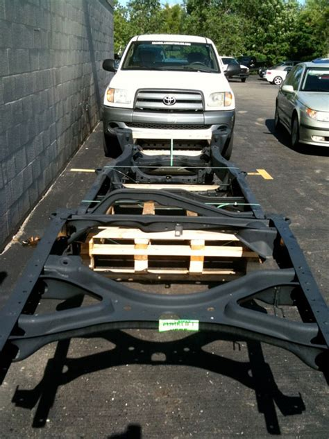 Toyota Tundra Frame Recall by This Is What A 2000 03 Toyota Tundra Replacement Frame