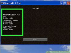 You Mod Minecraft 1 Do Installer 6 Open Computers How 4 Use 0