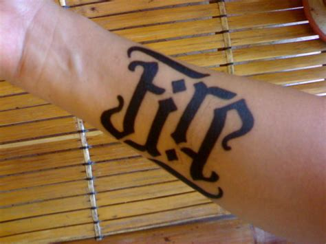 cool ambigram tattoo ideas hative