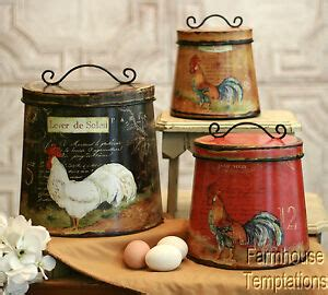 Tuscan Kitchen Canisters by Tuscan Kitchen Canisters Ebay
