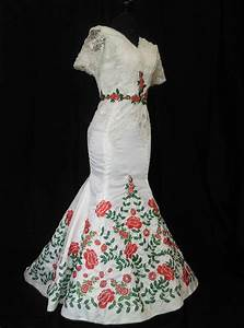 mexican wedding dress vestido mexicano bordado floral With plus size mexican wedding dresses
