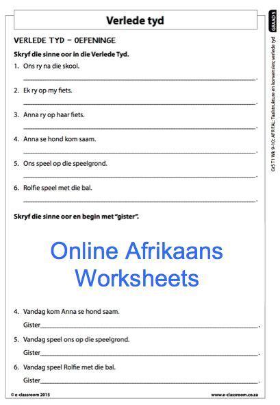 54 best worksheets images on worksheets grade 5 afrikaans homeshealth info