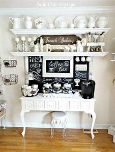 25 best ideas about home coffee bars on pinterest home With home coffee bar design ideas