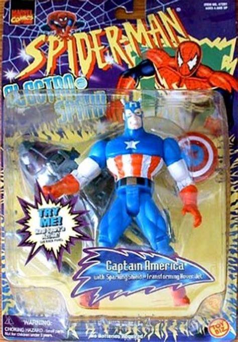 electro spark captain america marvel vintage