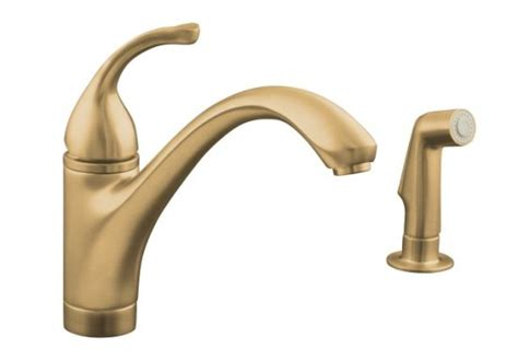 Kohler Forte Bathroom Faucet Leaking by Kohler K 10416 Bv Forte Single Kitchen Faucet With