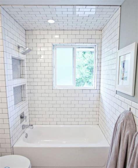 bathroom surround ideas 29 white subway tile tub surround ideas and pictures