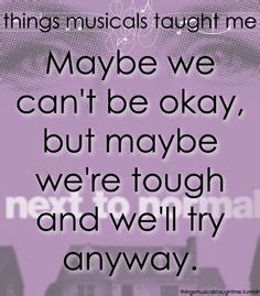 next to normal quotes musical