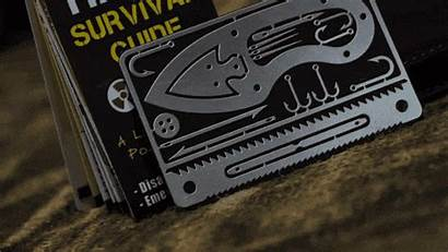 Survival Guide Tiny Kit Card Tool Ditch