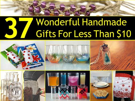 37 Wonderful Homemade Gifts For Less Than  Best Living Room Lighting Floor Lights Custom Cabinets Ashley Leather Sets Spaces Dining Paint Colors For Rooms Furniture Staging