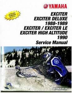 199yamaha Exciter Repair Manual