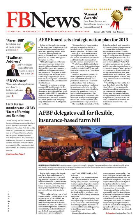press bureau farm bureau 02 04 13