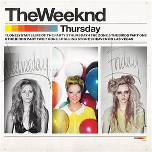 The Weeknd - Thursday (mixtape cover) | Typography | Pinterest