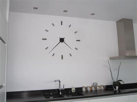 horloge de cuisine murale horloge decoration cuisine