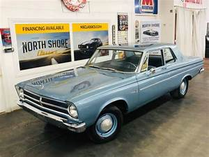 1965 Plymouth Belvedere  Blue With 18 122 Miles Available