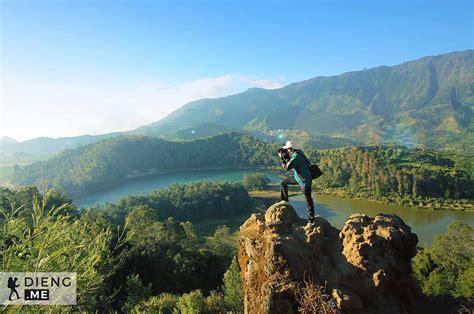 wisata batu pandang ratapan angin dieng wonosobo