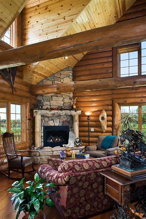 houses with fireplaces 16 best images about luxury log homes on log