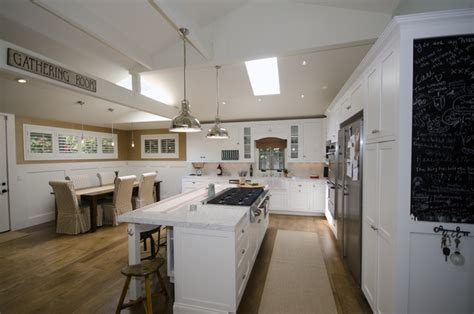 French Contemporary Kitchen   Eclectic   Kitchen   los