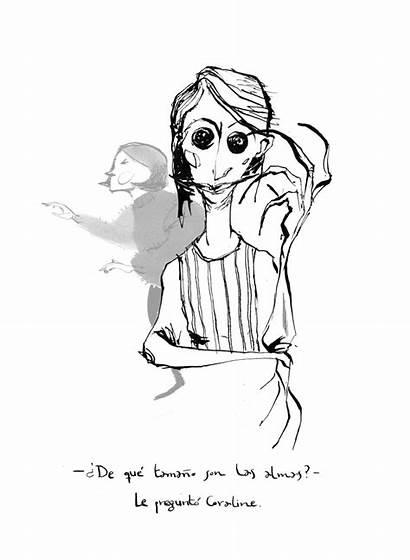 Gaiman Neil Coraline Ilustraciones Domestika