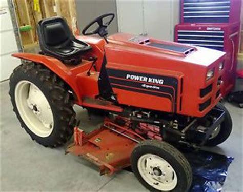 Power King Economy Jim Dandy Tractor Lawn Mower