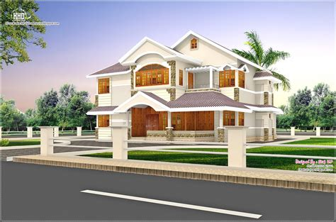Cute Villa Design In 2900 Sqfeet  House Design Plans