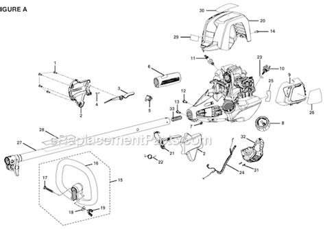 Diagram Of Stihl Tiller Engine by Ryobi Ry34440 S430 Parts List And Diagram