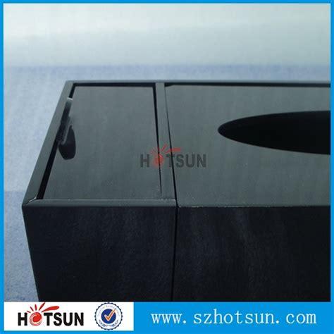 black acrylic napkin case tissue box advanced manufacturer