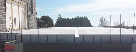 ICF Floor & Roof System for Insulated Concrete