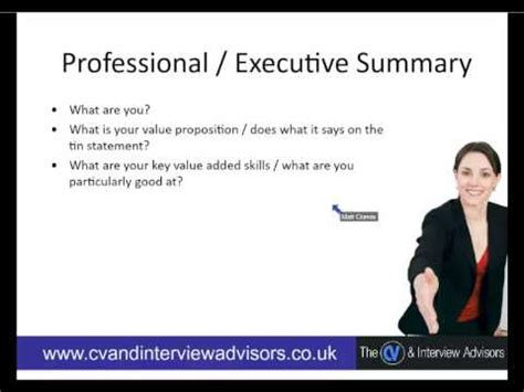 Exles Of A Professional Summary by Professional Summary