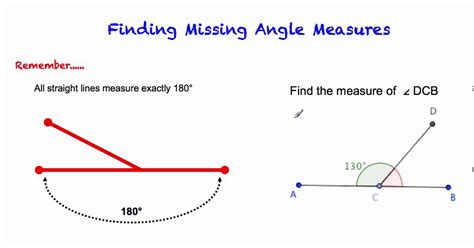 Complementary & Supplementary Angles Youtube