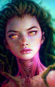 Digital Art Girl Painting