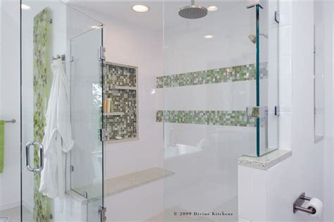 shower tile with glass accent sumptuous frameless shower doors in bathroom contemporary with glass tile shower next to