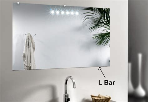 bar mirror support  decorative edged mirrors dulles glass  mirror