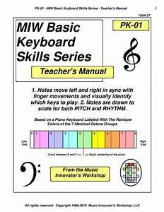 Pk-01 - Miw Basic Keyboard Skills Series