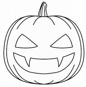 Dessin Citrouille Facile : halloween pumpkin outline printable festival collections ~ Melissatoandfro.com Idées de Décoration