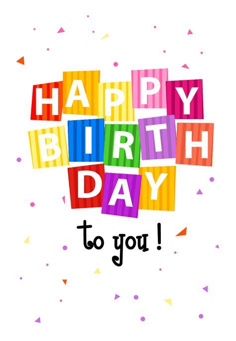 happy birthday confetti tarjeta de cumpleanos gratis
