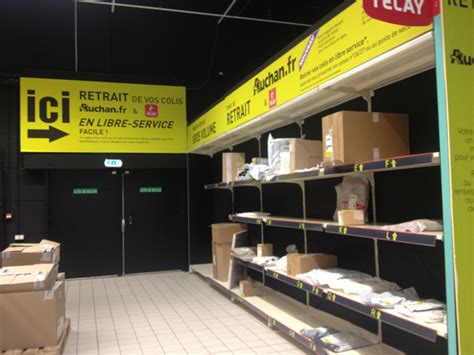 Auchan Teste Le Point De Retrait Libre-service