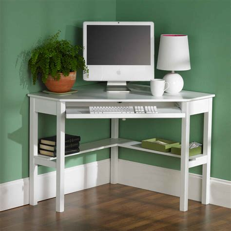 small white corner desk white corner computer desk for home office office architect