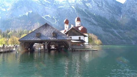 koenigssee village  berchtesgaden germany youtube