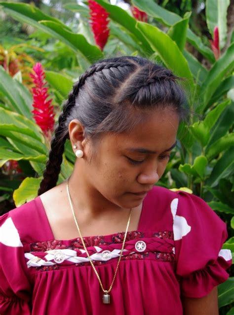 braids hairstyles  super long hair micronesian girl