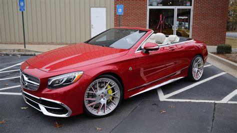 Forgiato Puts Flashy 22-inch Wheels On The Mercedes