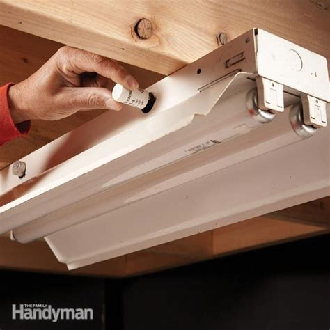 fluorescent light repair the family handyman