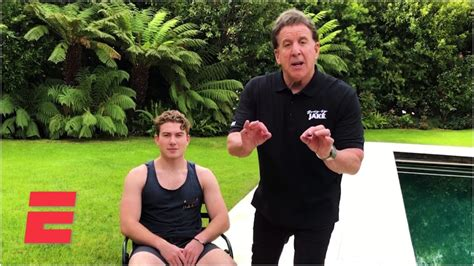 Home Workout: Chair kick-outs with 'Body by Jake' and the ...