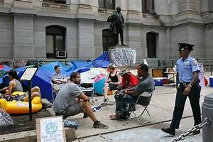 'Occupy ICE' protesters set up new camp at Philadelphia ...